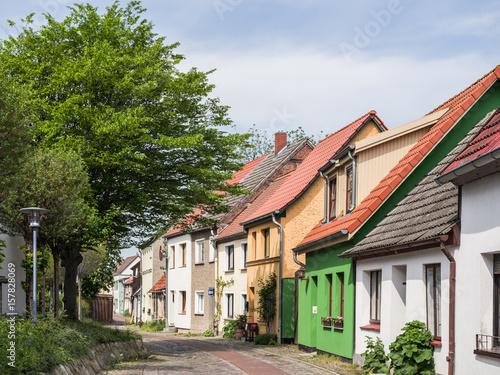 Fototapeta  Altstadtgasse in Barth an der Ostsee