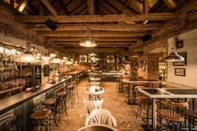 Retro Wooden Loft Caffee Resta...