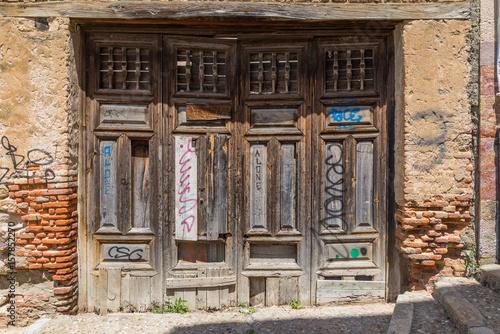 Deurstickers Illustratie Parijs Zamora, ciudad histórica y cultural, España.