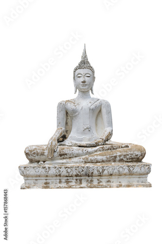 Papiers peints Buddha statue isolated