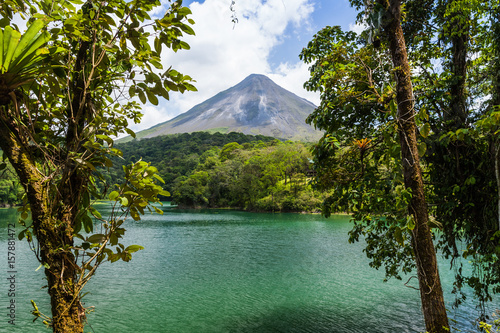 Arenal Volcano in Costa Rica Wallpaper Mural
