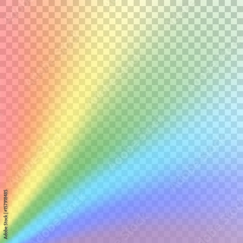 Rainbow Gradient On White Transparent Background Color Rainbow