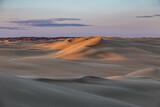 Sand dunes landscape in west Kazakhstan desert