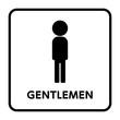 サイン トイレ,男性,