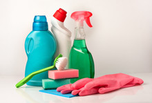 House Cleaning Products And To...
