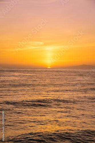 Sunset in Newport Beach, California