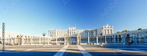 Morning light at Palacio Real , Madrid