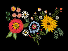 Embroidery Native Pattern With...
