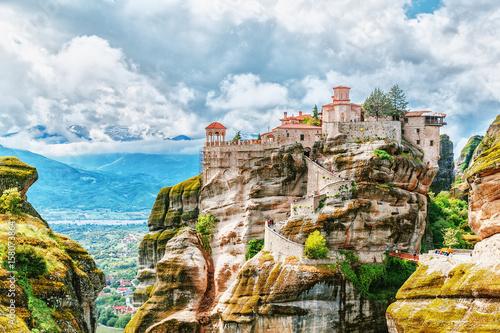 Fotomural Monastery Meteora Greece.