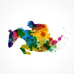 équitation,saut d'obstacle