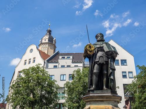 Zdjęcie XXL Hanfried w Jenie na rynku