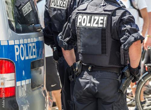 Fotografía  Bereitschaftspolizei