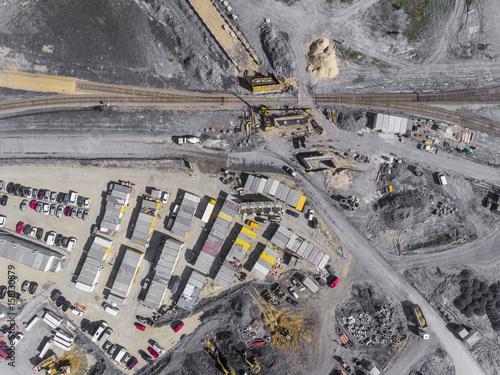 plac-budowy-strzal-z-gory-obszar-przemyslowy