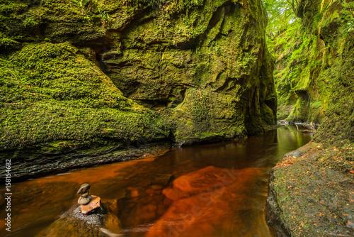 Photo  Glen Finnich in Scotland