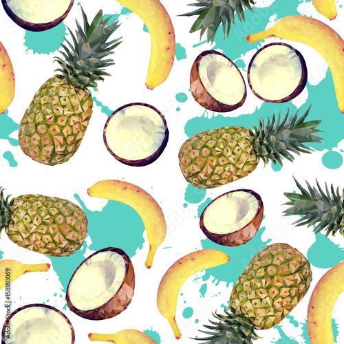 wzor-z-tropikalnymi-owocami