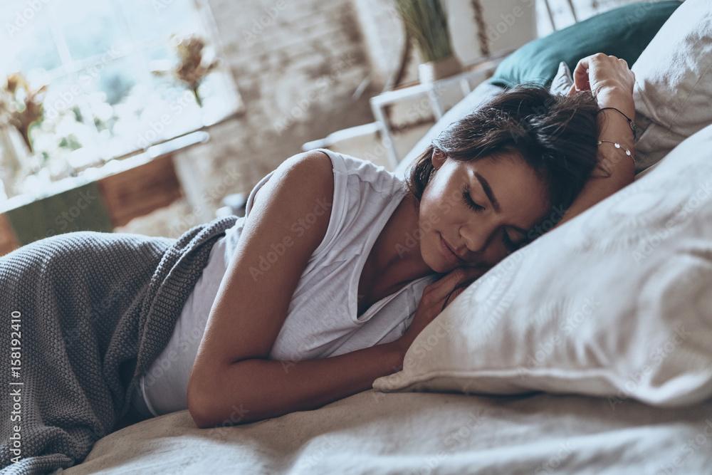 Fototapety, obrazy: Beauty sleeping.