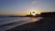 Coucher de soleil dans les Caraïbes en Martinique à Schoelcher