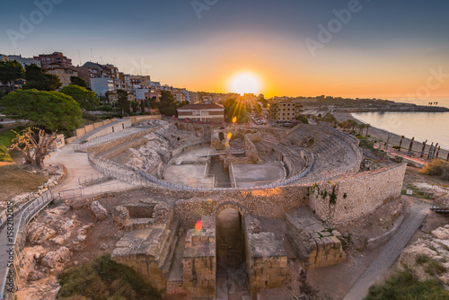 Photo Tarragona Roman Amphitheatre ruins,Spain