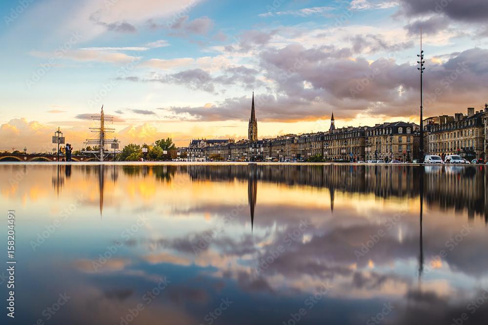 Fototapety, obrazy: Miroir d'eau Bordeaux
