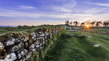Hadrian's Wall Winter Sunset