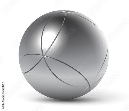 Obraz Boule de pétanque vectorielle 1 - fototapety do salonu