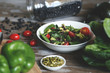 Southwest Spinach Salad with Avocado