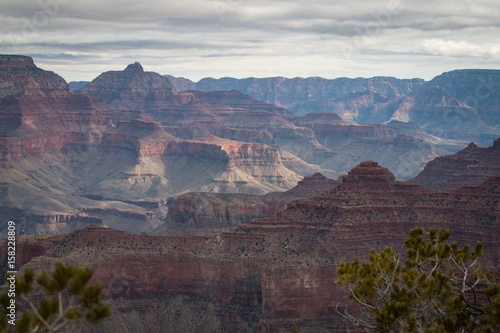 Foto op Plexiglas Zuid Afrika view over the grand canyon from the south rim part