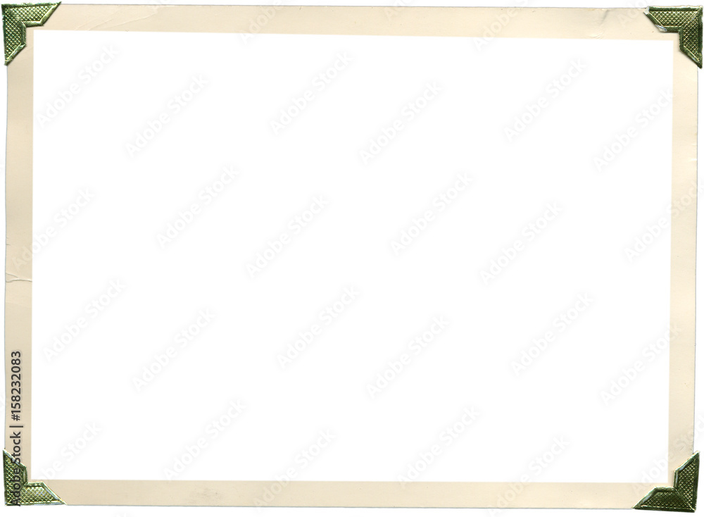 Fototapety, obrazy: Photo Corners Frames