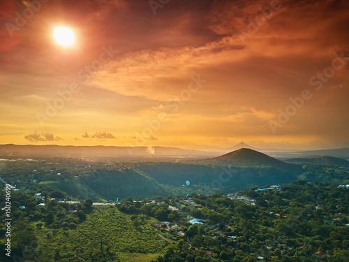 Obraz na płótnie Sunny Nicaragua landscape
