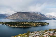 A View On Lake Wakatipu And Kelvin Heights