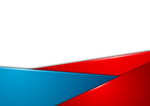 Red And Blue Stripes Corporate...