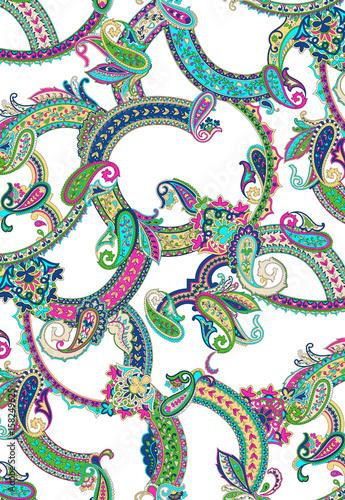 ethnic shawl pattern - 158249625