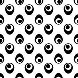 Czarno-biały wzór. Druk geometryczny - 158259237