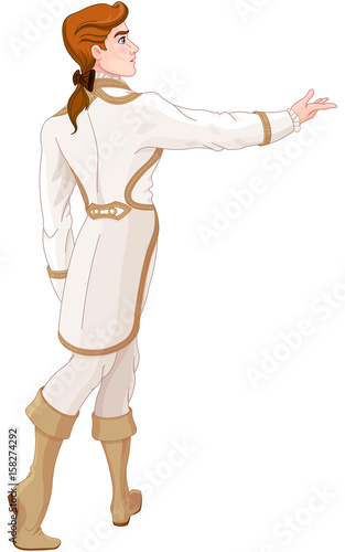 In de dag Sprookjeswereld The Prince Looks After the Fleeing Cinderella