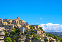 View On Gordes, A Small Typica...