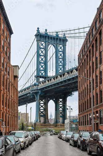 Poster Brooklyn Bridge Manhattan Bridge