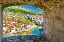 Dubrovnik Stone Window Scenic....