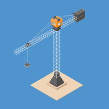 Industrial Construction Crane....