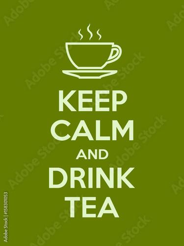 zachowaj-spokoj-i-pij-motywacyjny-cytat-z-herbaty-plakat-z-jasnozielonym-znaki