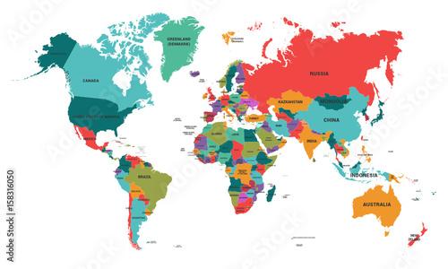 Carte Monde.Carte Monde World Map Buy This Stock Vector And Explore