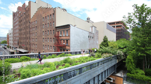 High Line Walkway / New York City - USA