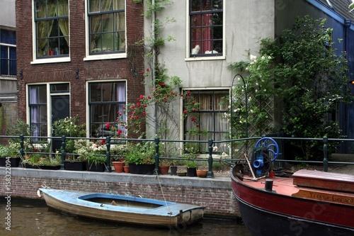 Photo  An der Gracht in Amsterdam