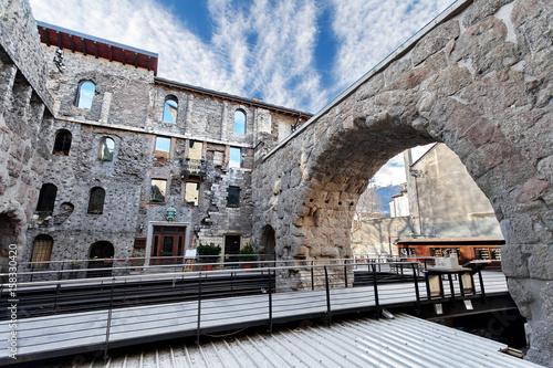 Photo Porta Preatoria - Aosta, Valle d'Aosta, Italy