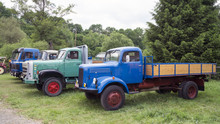 Oldtimer Lastwagen.