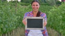 Beautiful Girl (woman) Farmer ...