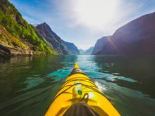 Kayaking In Norwegian Fjords