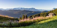 Panorama Du Mont Blanc - France