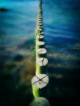 Buhnen Führen In Die See
