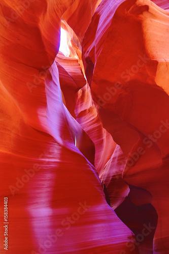 Foto op Canvas Baksteen Antelope canyon