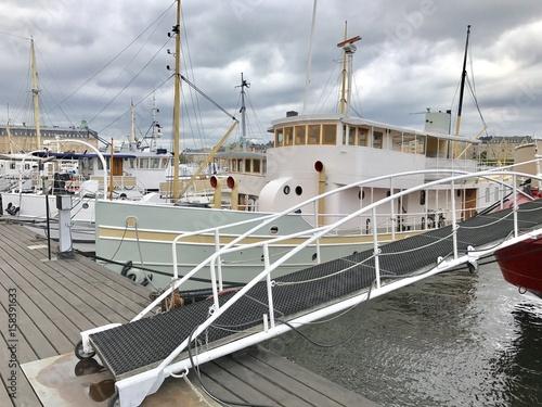 Keuken foto achterwand Schip Old ship
